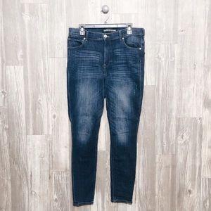 {Express} High Rise Legging Skinny Jeans